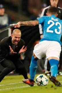 Champions League - S.S.C. Napoli vs Manchester City
