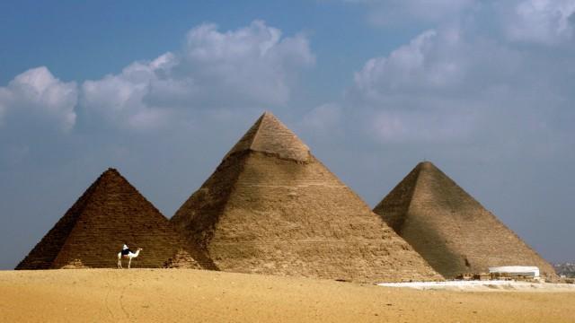 Hohlraum in der Cheops-Pyramide entdeckt