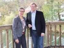 Sibylle Haas und David Costanzo