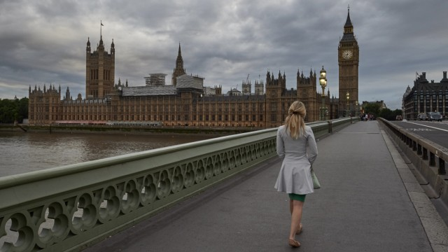 Politik Großbritannien Übergriffe im britischen Parlament