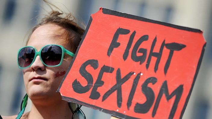 Protest gegen Sexismus