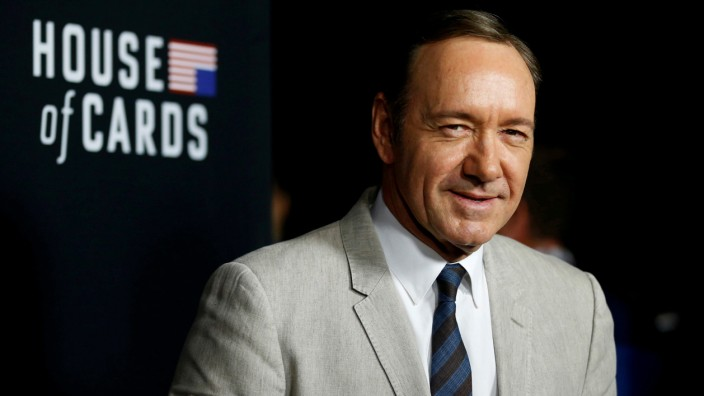 FILE PHOTO: Cast member Spacey poses at the premiere for the second season of the television series 'House of Cards' at the Directors Guild of America in Los Angeles