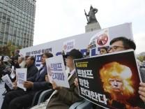 Vor der Trump-Reise nach Asien