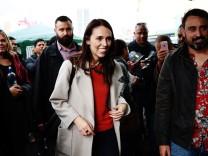 Prime Minister Jacinda Ardern Attends Sandringham Street Festival