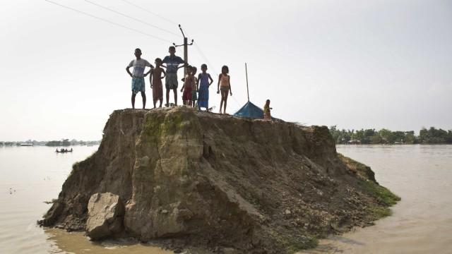 Überschwemmungen in Indien
