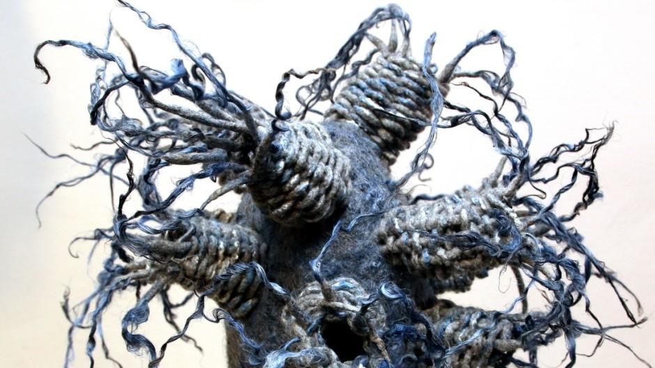 Ausstellung 'Blau II'