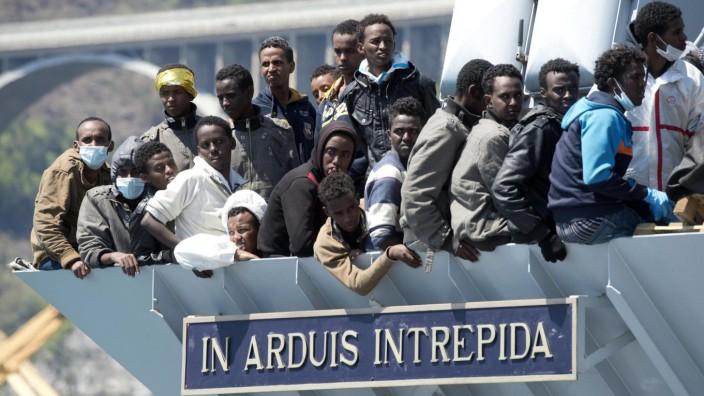Anarchie und Wetter treibt Flüchtlinge nach Libyen