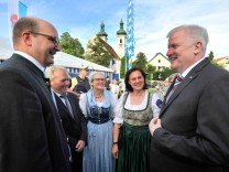 Tutzing: Festwoche CSU Horst Seehofer