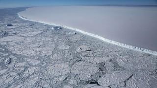 Eisberg A-68 in der Antarktis (2017)