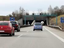 Autobahntunnel auf der A96 bei Wörthsee, 2015