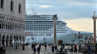 Kreuzfahrtkolosse in Venedig