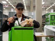 Lebensmittellieferdienst Amazon Fresh