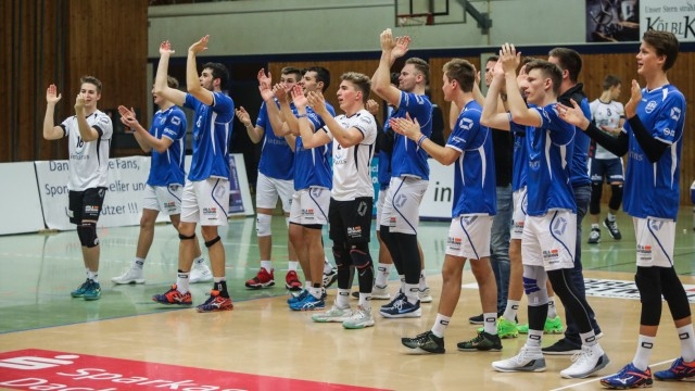 Volleyball Pokalspiel