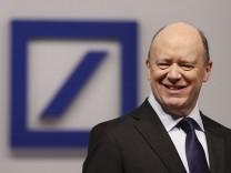 John Cryan ist Chef der Deutschen Bank