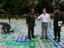 Rekordfund:12 Tonnen Kokain in Kolumbien