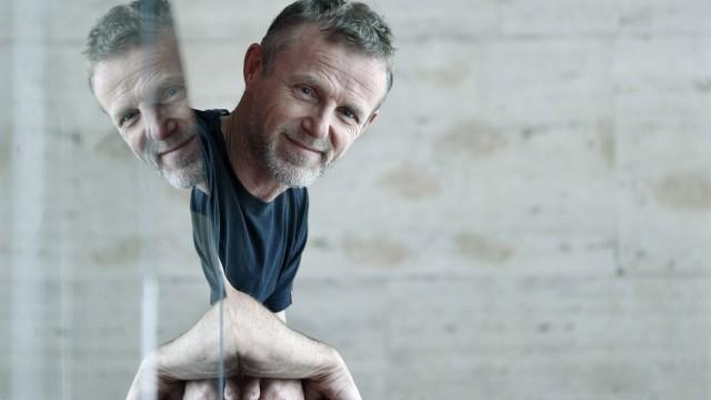 Norwegian noir novel writer Jo Nesbo poses for the media on the ocassion of the Kosmopolis Literary