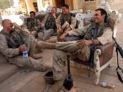 US-Soldaten in einem der Paläste von Saddam Hussein, AP
