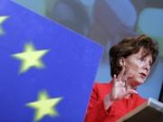 EU-Wettbewerbskommissarin Neelie Kroes, AP