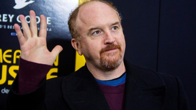 FILE PHOTO: Cast member Louis C.K. attends the 'American Hustle' movie premiere in New York
