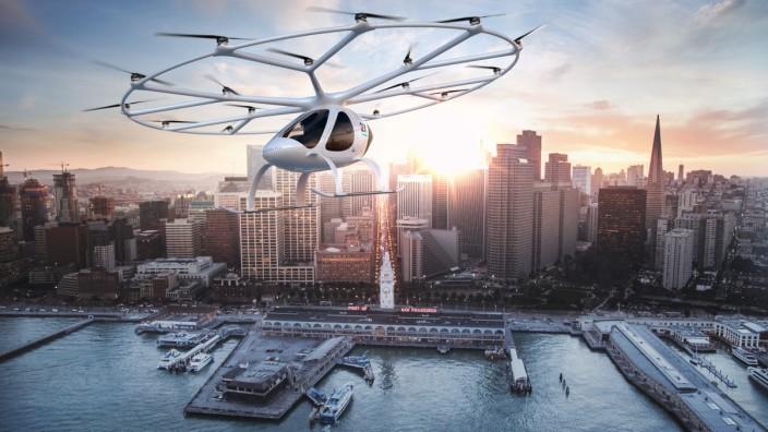 Elektromobilität Elektro-Flugtaxi Volocopter