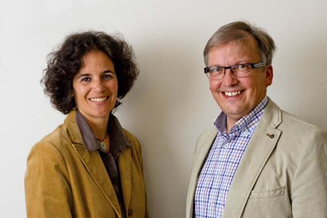 LPV GF Josef Rüegg und Tina Feuerbacher