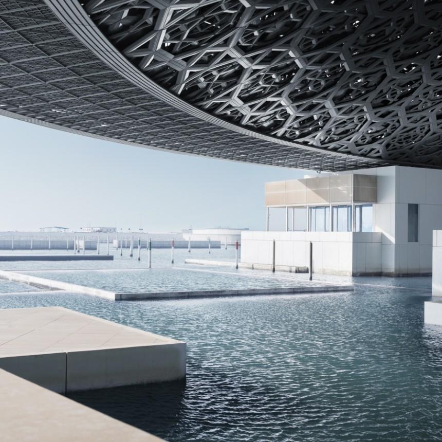 Louvre Abu Dhabi: Gebautes moralisches Fragezeichen - Kultur ...