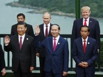 Xi Jingping Tran Dai Quang Joko Widodo Rodrigo Duterte Vladimir Putin Donald Trump