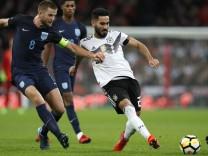 Ilkay Gündogan im Spiel der deutschen Nationalmannschaft gegen England.