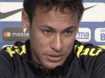 Neymar bricht in Tränen aus