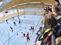 Bernried Einweihung Sporthalle
