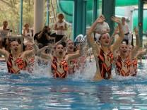 61 Deutschen Meisterschaft im Synchronschwimmen Flensburg 12 11 17 Marlene Bojer Daniela Reinhar
