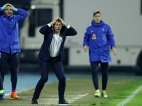 Themen der Woche SPORT Bilder des Tages SPORT Fußball WM Playoffs Kroatien Griechenland