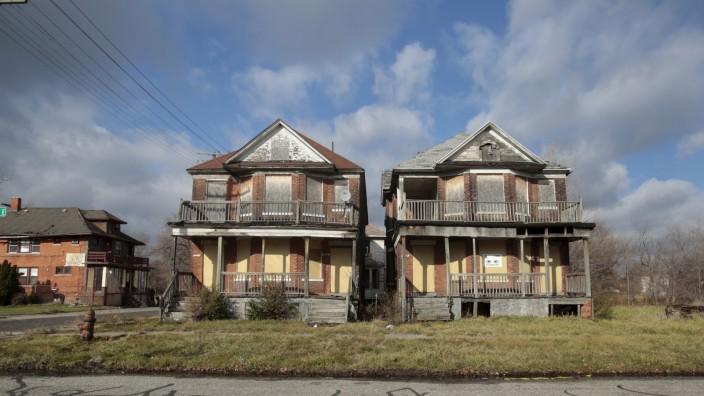 Häuser in Detroit
