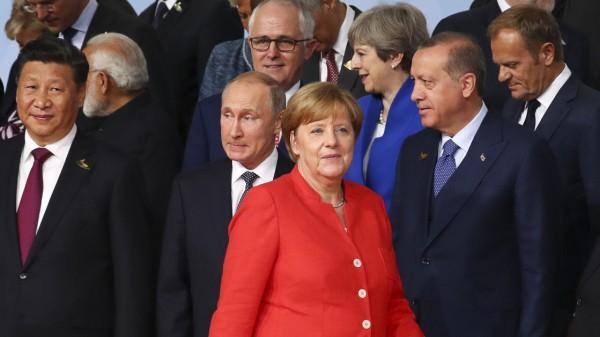 G20-Gipfel - Familienfoto
