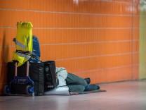 Obdachlose in Baden-Württemberg