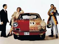 Porsche Anzeigenmotiv von 1967