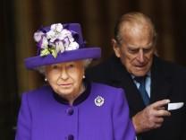 Königin Elizabeth II und Prinz Philip