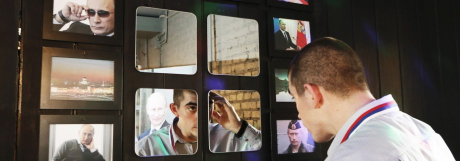 The Wider Image: Siberia's Putin cafe