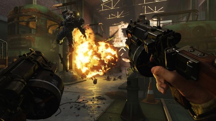 Von Widerstandskämpfern und Ringschmieden - Neue PC-Spiele
