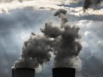 Braunkohlekraftwerk aufgenommen in Boxberg