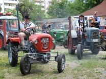 Traktoren-Oldtimertreffen in München, 2016
