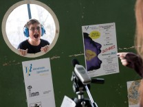 Münchner Schrei-Wettbewerb im Internationalen Jugendzentrum Haidhausen, Einsteinstraße 90