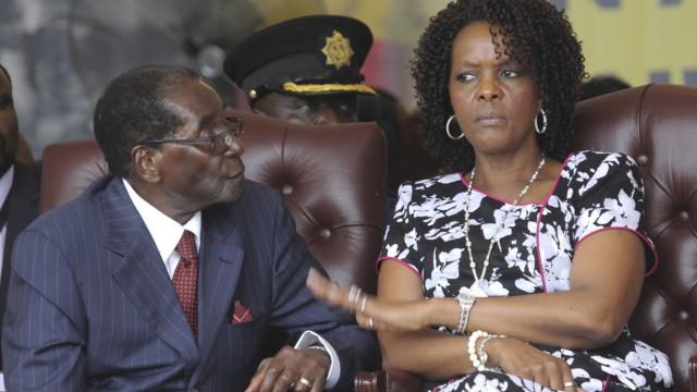 Politik Simbabwe Porträt einer Herrscherfamilie