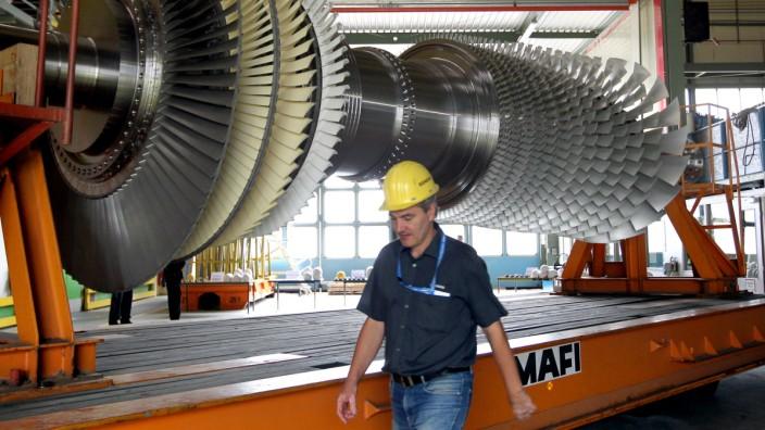 Siemens Gasturbine