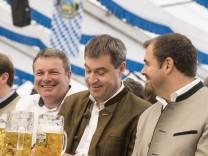 Höhenkirchen-Siegertsbrunn, Leonhardizelt, CSU Kreisverband München-Land, Markus Söder;