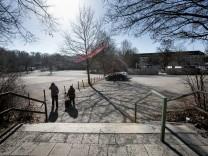 Candidplatz. Der ist als Ausweichstandort für den Holzkonzertsaal (Philharmonie-Ausweichquartier bei der Gasteig-Sanierung) ernsthaft im Gespräch.