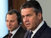 Außenminister Gabriel trifft libanesischen Amtskollegen Bassil