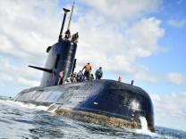 Argentinisches U-Boot verschollen