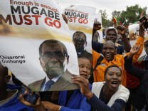 Demonstration in Harare