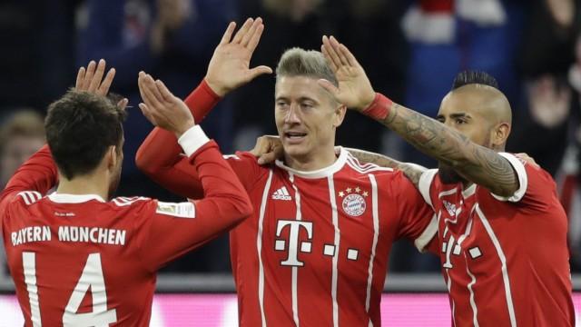 Fc Bayern Gegen Fc Augsburg Frisur Sitzt Ergebnis St Sport